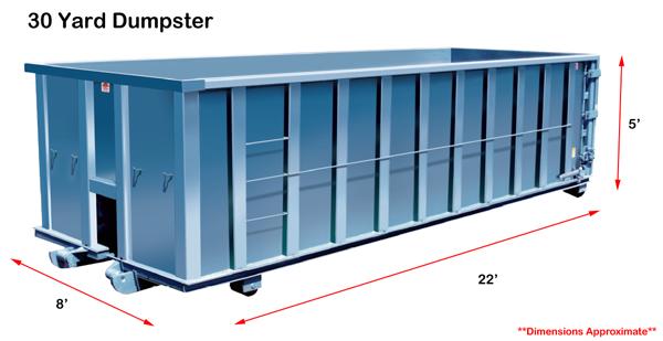 30 yard dumpster lakewood co